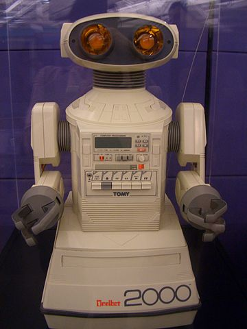 """EarlyRobot"" by Jennifer - Omnibot 2000 (1985). Licensed under CC BY-SA 2.0 via Wikimedia Commons."