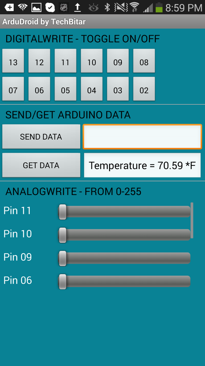 RTOS based Home Automation System using Android